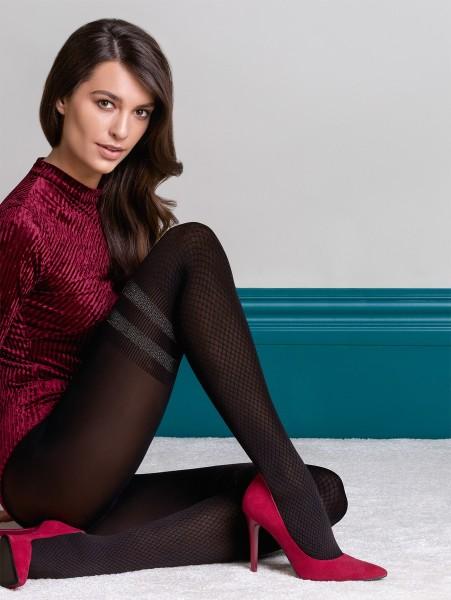 Strumpfhose aus der Fashion Collection-Linie für kalte Tage KATE