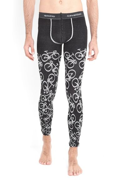emilio cavallini underchsichtige Meggings BICYCLES 100 DEN