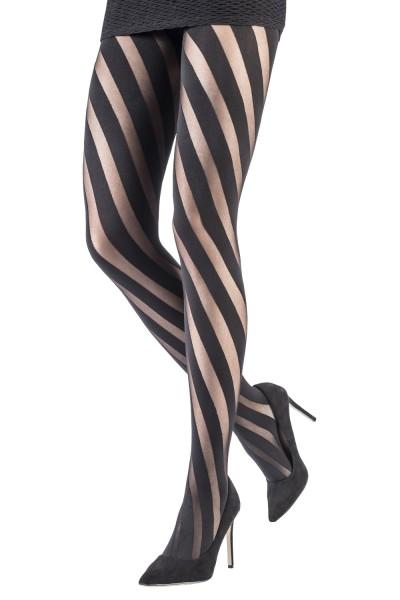 Damen Strumpfhose mit Spiralmotiv WHIRLWIND 70 DEN